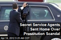 Secret Service Agents Recalled in Prostitution Scandal