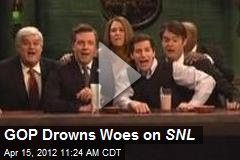 GOP Drowns Woes on SNL