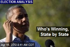 Who's Winning, State by State