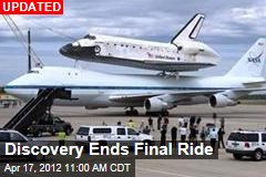 Discovery Takes Last Ride