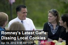 Romney's Latest Gaffe: Dissing Local Cookies