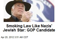 GOP's Raese: Smoking Law Like Nazis' Jewish Star