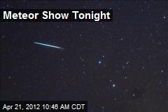 Meteor Show Tonight