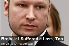 Breivik: I Suffered a Loss, Too