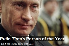 Putin Time's Person of the Year