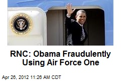 RNC: Obama Fraudulently Using Air Force One