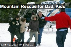 Mountain Rescue for Dad, Kids