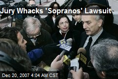 Jury Whacks 'Sopranos' Lawsuit