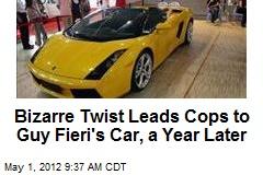 Bizarre Twist Leads Cops to Guy Fieri's Car, a Year Later
