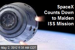SpaceX Counts Down to 1st ISS Mission