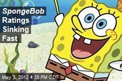 SpongeBob Ratings Sinking Fast