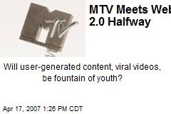 MTV Meets Web 2.0 Halfway