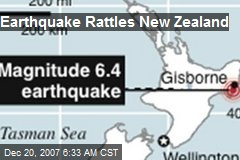 Earthquake Rattles New Zealand