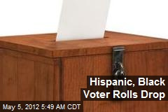 Hispanic, Black Voter Rolls Drop