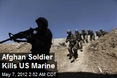 Afghan Soldier Kills US Marine