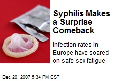 Syphilis Makes a Surprise Comeback