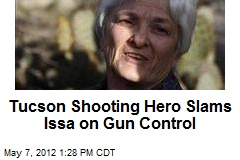 Tucson Shooting Hero Slams Issa on Gun Control