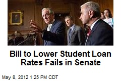 Bill to Lower Student Loan Rates Fails in Senate
