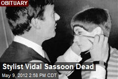 Stylist Vidal Sassoon Dead