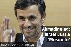 Ahmadinejad: Israel Just a 'Mosquito'