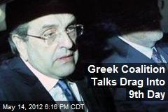 Greek Coalition Talks Drag Into 9th Day