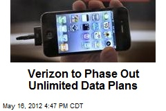 Verizon to Phase Out Unlimited Data Plans