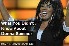 What You Didn't Know About Donna Summer
