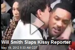 Will Smith Slaps Kissy Reporter