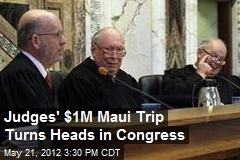 Judges' $1M Maui Trip Turns Heads in Congress