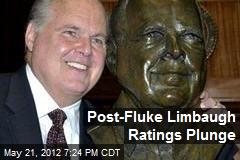 Post-Fluke Limbaugh Ratings Plunge