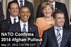 NATO Agrees on 2014 Afghan Pullout