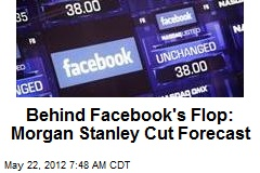 Behind Facebook's Flop: Morgan Stanley Cut Forecast