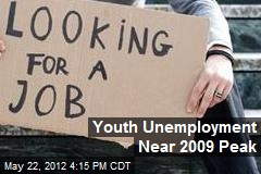 Youth Unemployment Near 2009 Peak