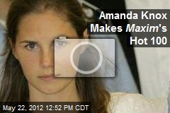 Amanda Knox Makes Maxim 's Hot 100