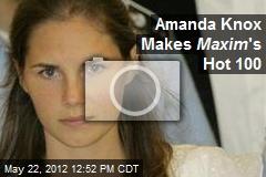 Amanda Knox Makes Maxim 's Hot 100