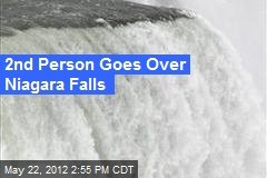 2nd Person Goes Over Niagara Falls
