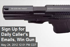 Sign Up for Daily Caller's Emails, Win Gun