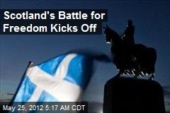 Scots Set to Launch Independence Drive