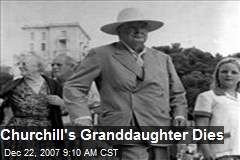 Churchill's Granddaughter Dies