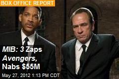 MIB: 3 Zaps Avengers, Nabs $55M