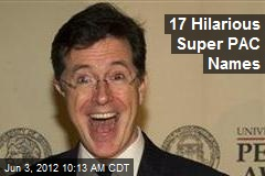 17 Hilarious Super PAC Names