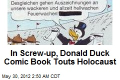 German Donald Duck Comic Goes Goofy Over 'Holocaust'