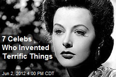 7 Celebs Who Invented Terrific Things