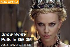 Snow White Pulls In $56.3M