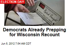 Democrats Already Prepping for Wisconsin Recount