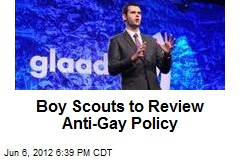 Boy Scouts to Review Anti-Gay Policy