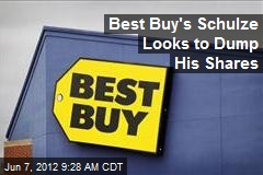 Best Buy's Schulze Looks to Dump His Shares