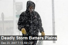 Deadly Storm Batters Plains