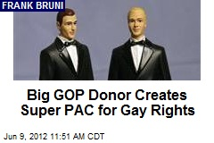 Big GOP Donor Creates Super PAC for Gay Rights