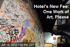 Hotel Lets People Stay Overnight for Work of Art